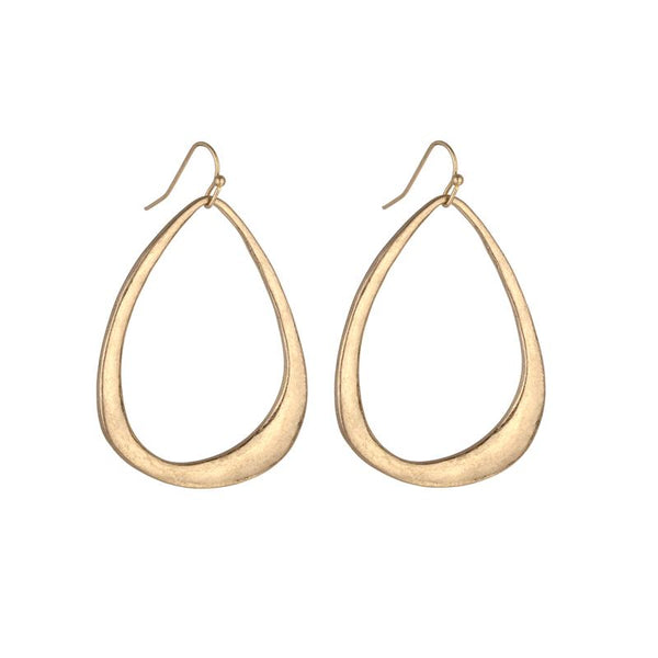Jordan Bell Hoop Earrings