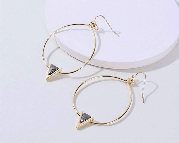 Jordan Hoop Earrings - G x G Collective