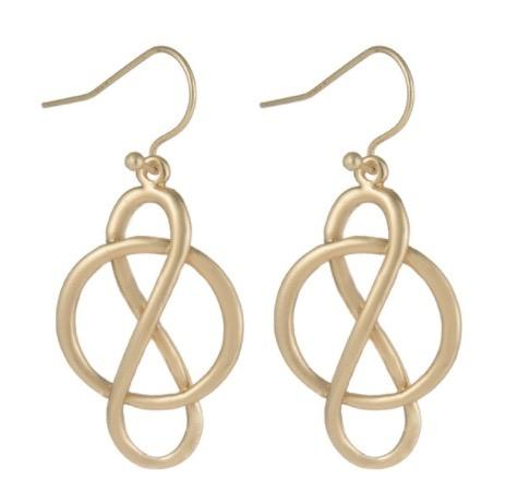 Karina Small Knot Earrings