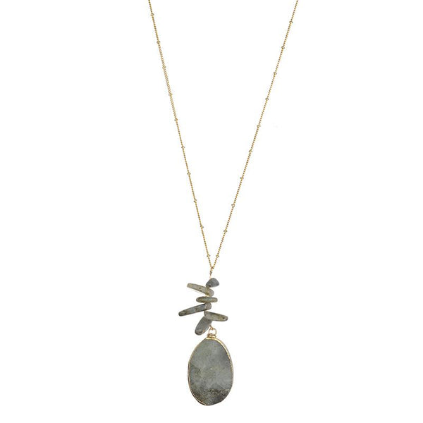 Katherine Semi-precious necklace