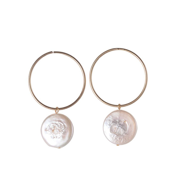 Kathleen Freshwater Pearl Earrings