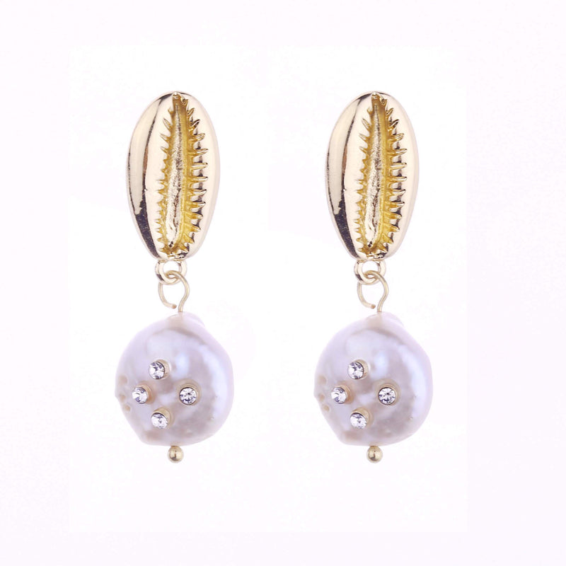 Kim Freshwater Pearl Earrings