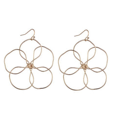 Patsy Gold Wire Earrings