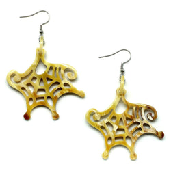 Seaweed Horn Earrings - G x G Collective