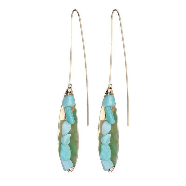 Victoria Semi-precious earrings - G x G Collective