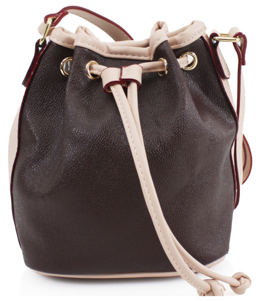 Mini Bucket Bag - (Tan)