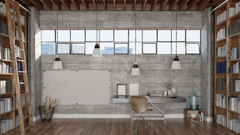 Concrete wall - industrial design