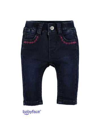 Pants for baby 20328200 dark blue denim