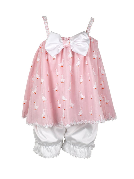 Baby Duck pink set 2pcs - 40% off