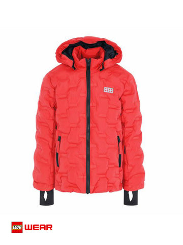 JACKET LEGO LWJIPE red