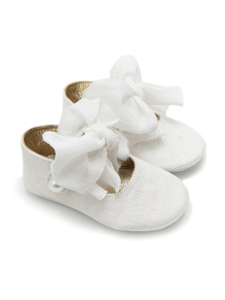 Emilly White baby Shoes