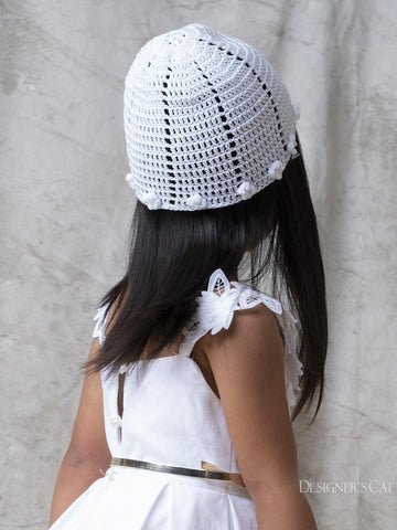 Amorgos knitted bonnet