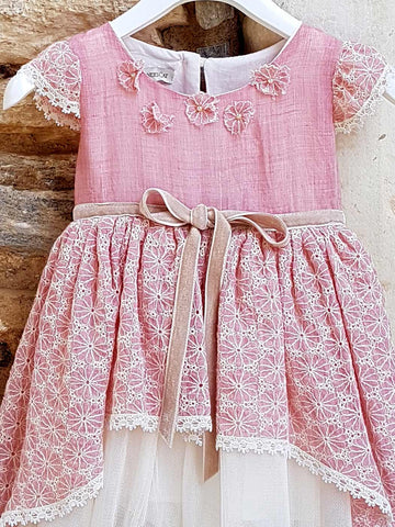 Artemisia pink dress