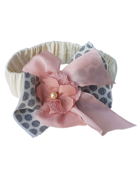 Bonitta Hair ribbon grey
