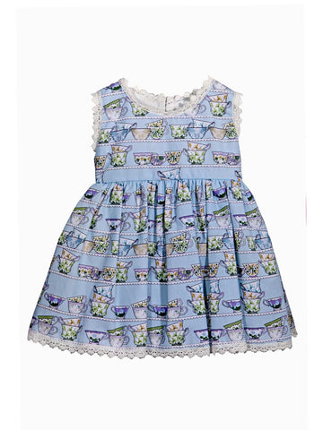 Filia light blue dress