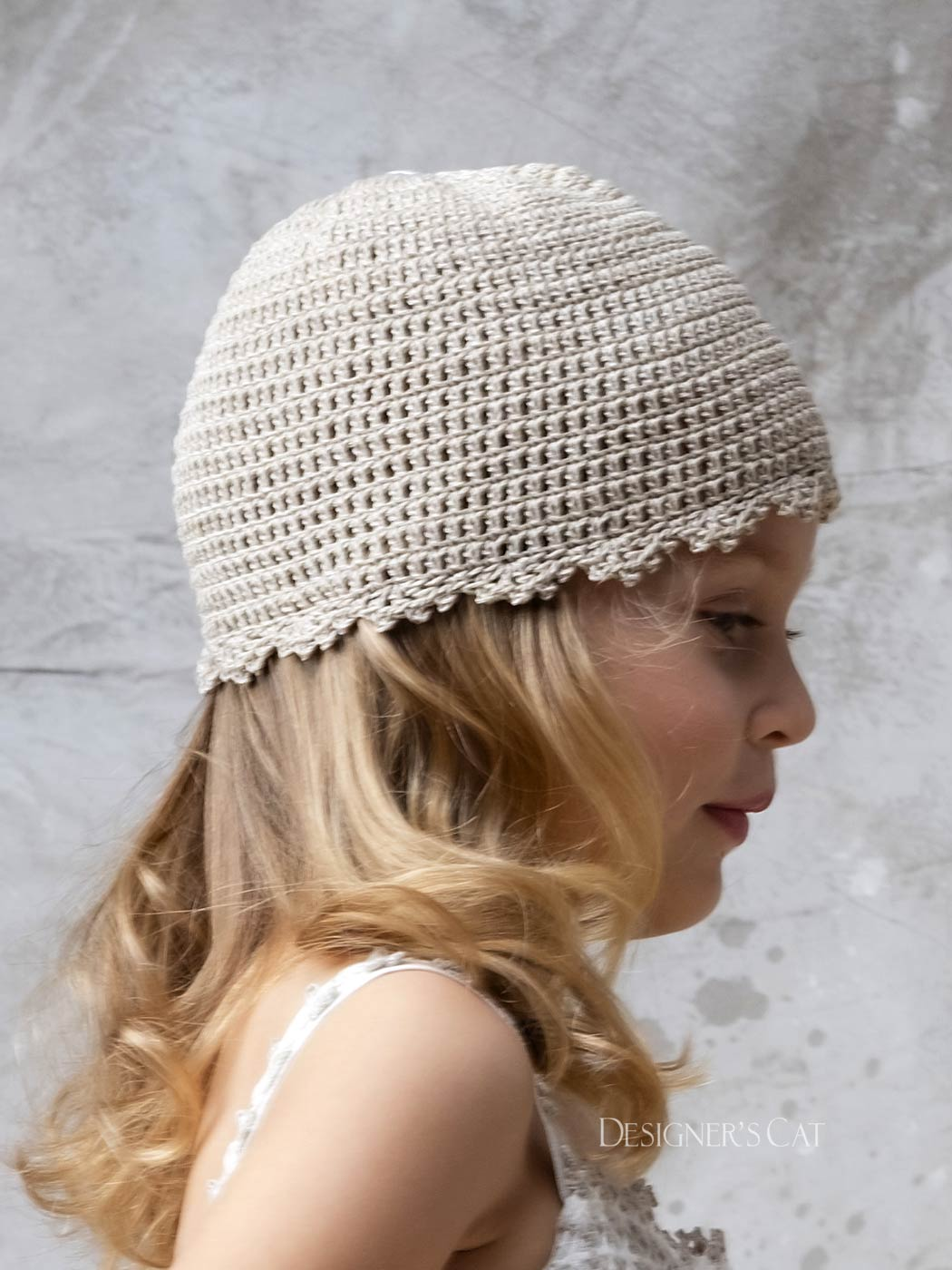 Naxos knitted bonnet