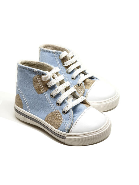 Santella Light blue shoes-30% off