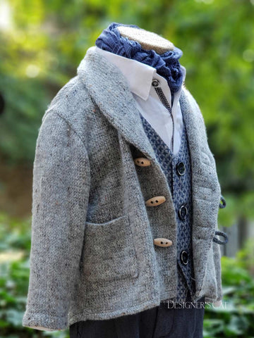 Mathieu knitted wool jacket