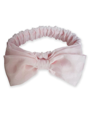 Thera pink hair band