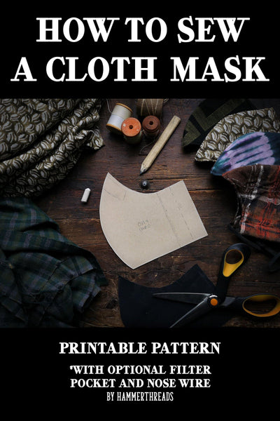 How To Sew A Cloth Mask