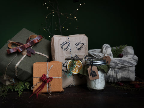 Sustainable Gift Wrap Solutions from Hammerthreads