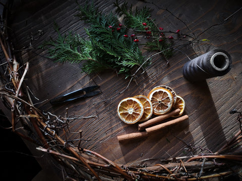 Natural Yule Decor For Your Home