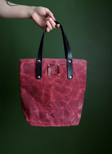 The Everyday Tote Canvas - Mini - Red