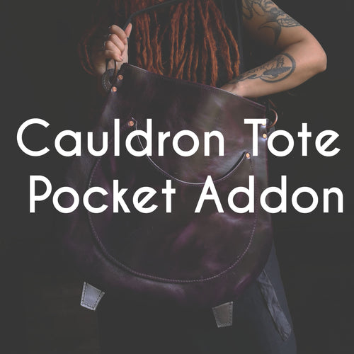 Cauldron Tote - Interior Pocket Addon
