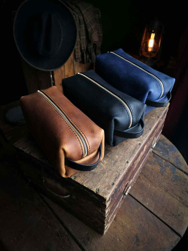 Leather Dopp Kit - Hammerthreads