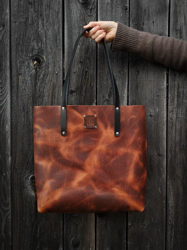 The Everyday Tote in Russet - Large
