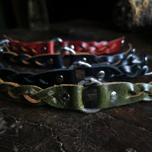 Load image into Gallery viewer, Ouroboros Triple Braided Bracelet