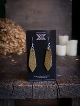 Load image into Gallery viewer, Geometric Earrings - Pear - Hammerthreads