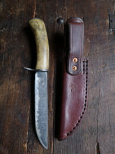 Load image into Gallery viewer, Hunting Knife - Handforged