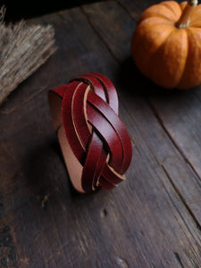 Double Strand Mystery Braid Cuff