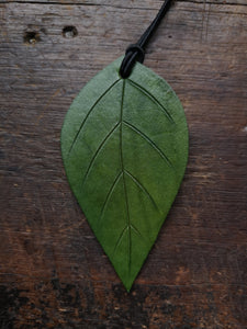 Leather Leaf Oil Diffuser