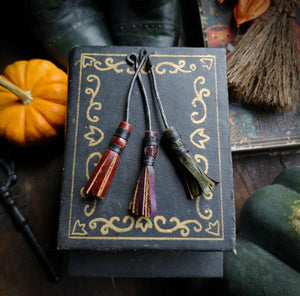 Besom Pendant or Keychain - Hammerthreads