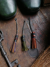 Load image into Gallery viewer, Besom Pendant or Keychain - Hammerthreads