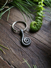 Load image into Gallery viewer, Fiddlehead Pendant or Keychain