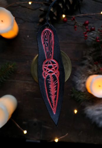 Frau Perchta's Blade Ornament