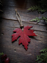 Load image into Gallery viewer, Maple Leaf Ornament