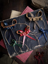Load image into Gallery viewer, Recycled Leather Bows - Small