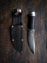 Load image into Gallery viewer, Marbles Woodcraft Knife - Handforged