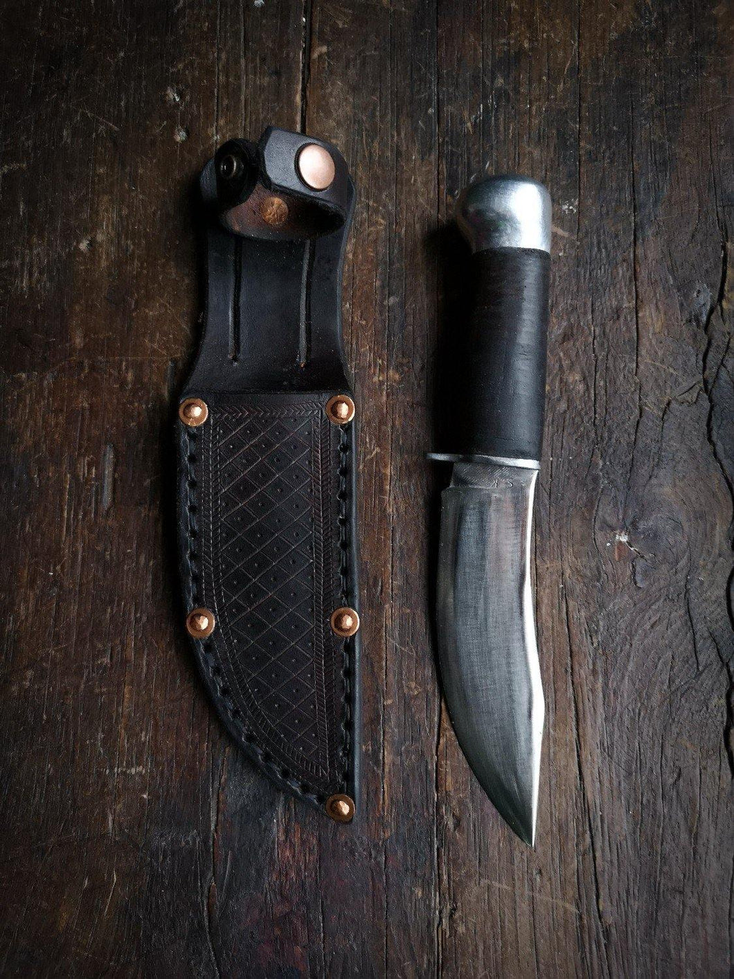 Marbles Woodcraft Knife - Handforged