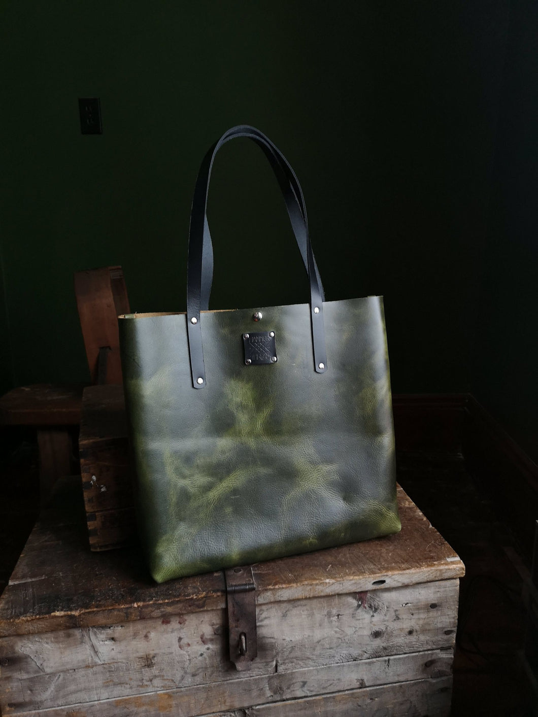 The Everyday Tote in Malachite - Hammerthreads