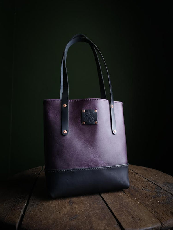 Classic Tote Mini - Violet and Midnight