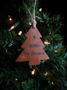 Personalized Leather Ornaments Hammerthreads
