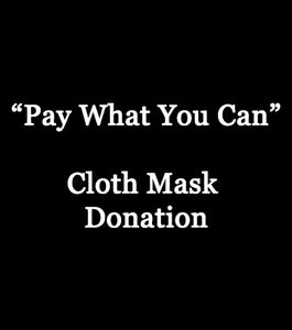 Mask Making Donation - $20 - Hammerthreads