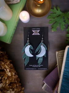 Mugwort Moon Earrings - Hammerthreads