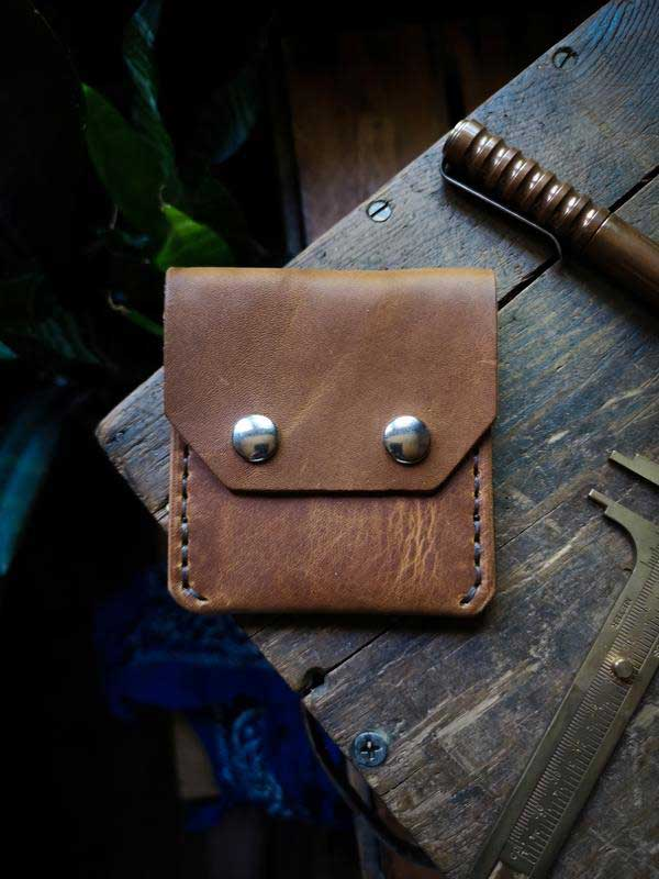 Leather Pocket Wallet - Hammerthreads