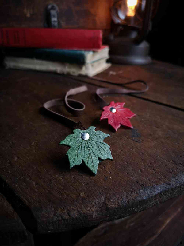 Maple Leaf Bookmark